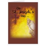 St. Joseph's Day Praying Hands