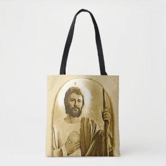 St. Jude Catholic Saint Tote Bag