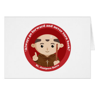 St. Junipero Serra Card
