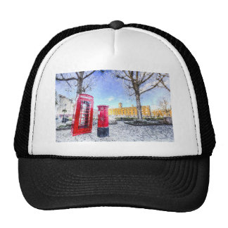 St Katherines Dock London Art Mesh Hat