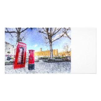 St Katherines Dock London Art Photo Cards