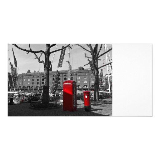 St katherine's Dock Personalised Photo Card