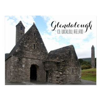 St. Kevin's Church, Glendalough Postcard