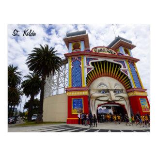St. Kilda Luna Park Postcard