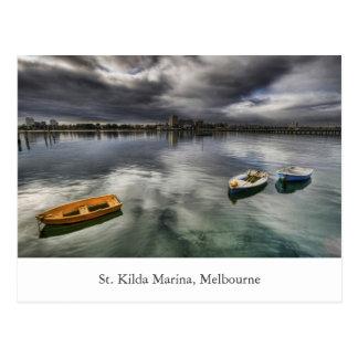 St. Kilda Marina Postcard