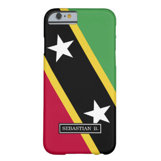 St. Kitts and Nevis Flag Barely There iPhone 6 Case