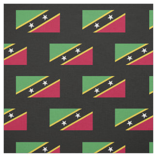 St. Kitts and Nevis Flag Fabric