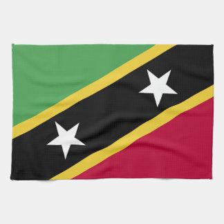 St. Kitts and Nevis Flag Tea Towel
