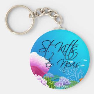 St. Kitts & Nevis Key Ring