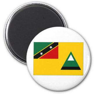 St Kitts Nevis Local Flag Magnet