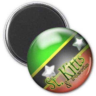 St. Kitts & Nevis Patriotic Magnet
