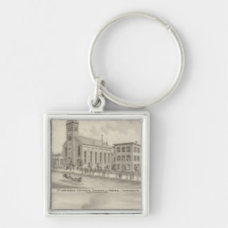 St Lawrence Catholic Church and School Keychain