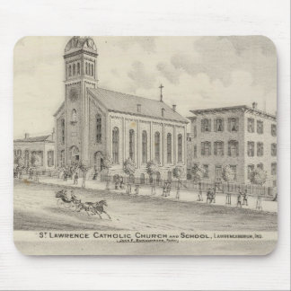 St Lawrence Catholic Church and School Mouse Pad