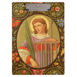 St. Lawrence of Rome (PM 04) Customizable Clipboards