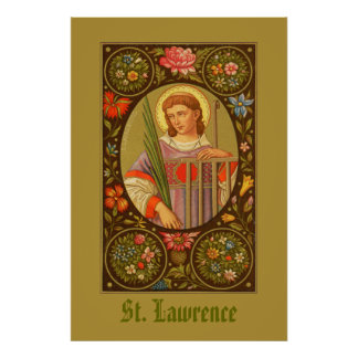 St. Lawrence of Rome (PM 04) Poster #1