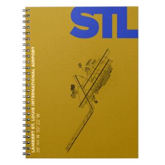St. Louis Airport (STL) Diagram Notebook
