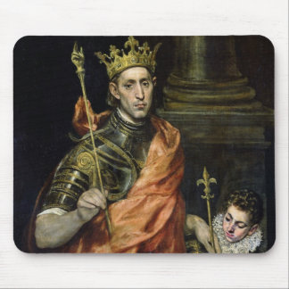 St. Louis  and his Page, c.1585-90 Mouse Pad