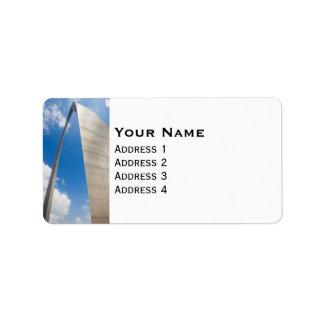 St. Louis Arch Label