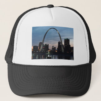 St Louis Arch Skyline Trucker Hat