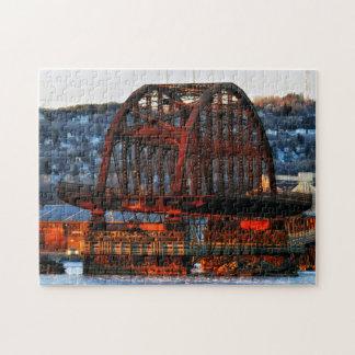 St. Louis Bay Bridge Duluth Minnesota Puzzles