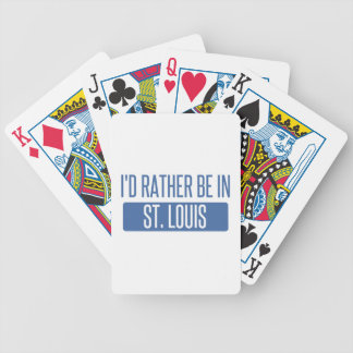 St. Louis Bicycle Playing Cards