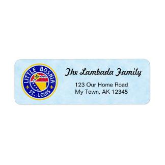St Louis Bosnian American Address Labels