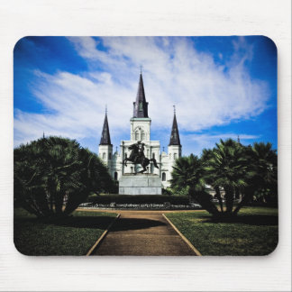 St Louis' Cathedral Mouse Pad