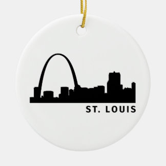 St. Louis Ceramic Ornament