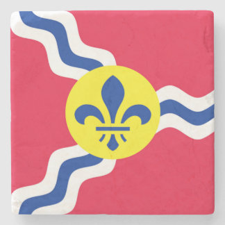St. Louis, Flag, Saint Louis Marble Coasters