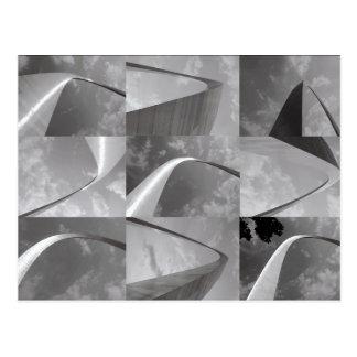 St. Louis Gateway Arch Photo Collage Postcard
