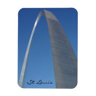 St. Louis Gateway Arch Rectangular Photo Magnet