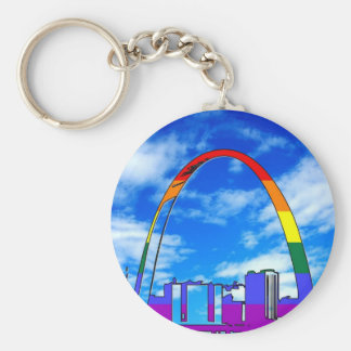 St. Louis GLBT Pride Key Ring