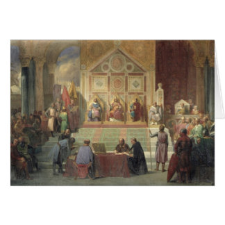 St. Louis  King of France Greeting Card