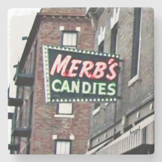 St. Louis, Merbs Candy,Saint Louis Marble Coasters