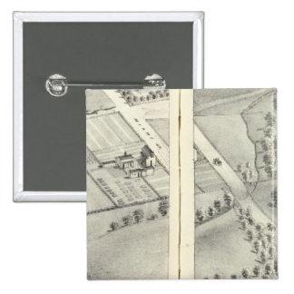 St. Louis, Missouri 10 15 Cm Square Badge