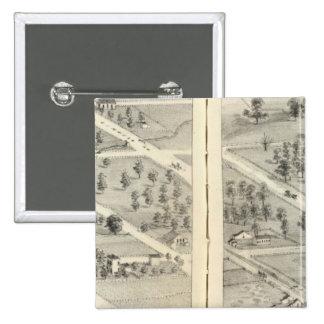 St. Louis, Missouri 13 15 Cm Square Badge