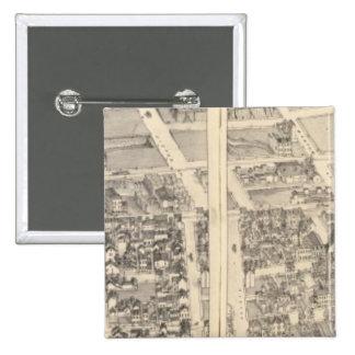 St. Louis, Missouri 5 15 Cm Square Badge