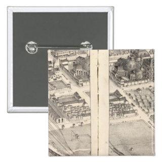 St. Louis, Missouri 15 Cm Square Badge