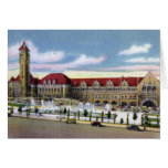 St. Louis Missouri Union Station and Fountains Greeting Cards