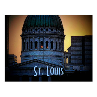 St. Louis Old Courthouse Postcard