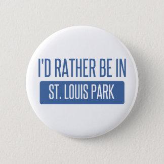 St. Louis Park 6 Cm Round Badge