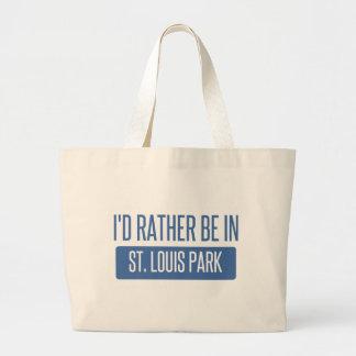St. Louis Park Large Tote Bag