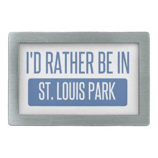 St. Louis Park Rectangular Belt Buckles