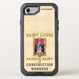 St. LOUIS  (Patron Saint of Construction Workers) OtterBox Defender iPhone 7 Case