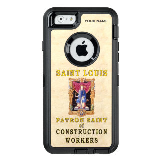 St. LOUIS  (Patron Saint of Construction Workers) OtterBox iPhone 6/6s Case