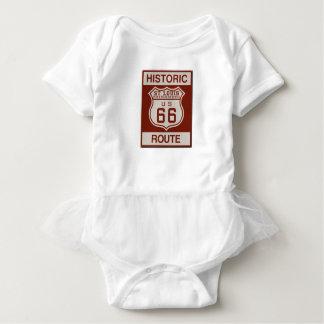 St Louis Route 66 Baby Bodysuit