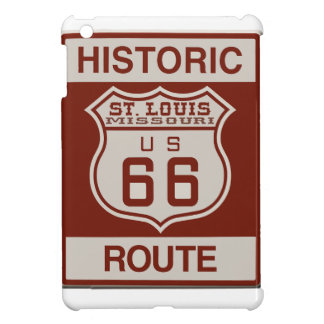 St Louis Route 66 iPad Mini Covers