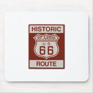 St Louis Route 66 Mouse Pad