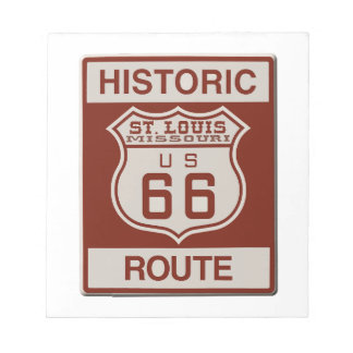 St Louis Route 66 Notepad