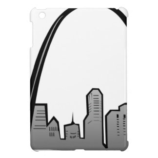 St Louis Skyline Drawing iPad Mini Cover